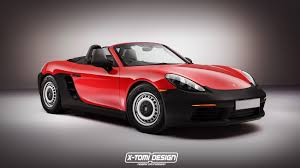 red porsche boxster 2017 a base porsche 718 boxster would have looked something like this