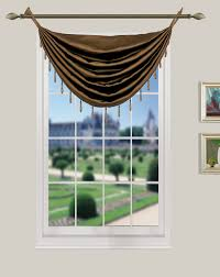 Valances For La La Pearl Room Darkening Grommet Panel Beaded Valance U2013 Marburn