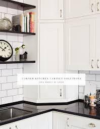corner kitchen cabinet ideas corner kitchen cabinet solutions live simply by