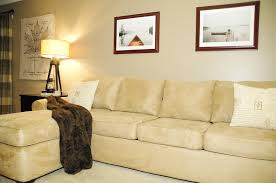 How To Repair Couch Upholstery How To Make An Old Couch New Again For 10 Living Rich On