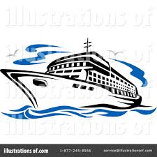 boat clipart cruise ship pencil and in color boat clipart cruise