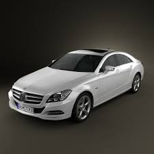 3d class price mercedes cls class w218 2012 3d model from humster3d