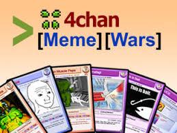 Meme Trading Cards - 4chan meme wars trading card game indiegogo