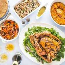 paleo thanksgiving dinner menu noshtastic