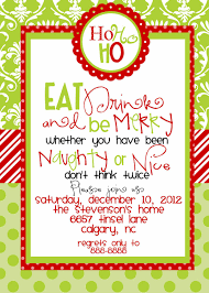christmas party invitation template australian christmas party