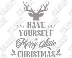yourself a merry cut file in svg eps dxf