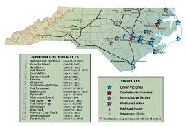 Wilmington Nc Map North Carolina As A Civil War Battlefield November 1864 U2013may 1865