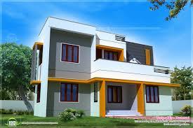 1400 sq feet modern contemporary home exterior kerala home