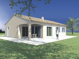 maison plain pied 3 chambres modele maison maison de plain pied 3 chambres terrasse
