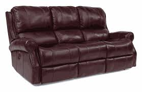 Klaussner Couch Miles Power Reclining Sofa Flexsteel Frontroom Furnishings