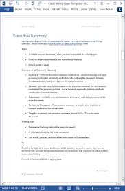 technical report word template white papers ms word templates free tutorials