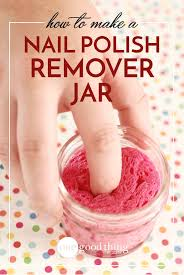 this is the absolute simplest way to remove nail polish jars