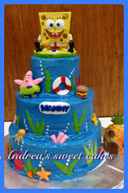 spongebob cake ideas pinterest 8612