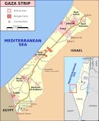 Middle East Map Israel by Israel U2013gaza Barrier Wikipedia