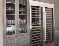 bar furniture rectangle black wooden bar cabinet with doors and
