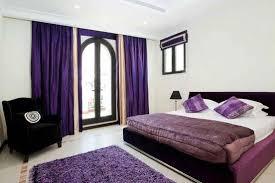 Dark Purple Bedroom by Dark Purple And Blue Bedroom Dark Purple Leaf Pattern Bed Cover