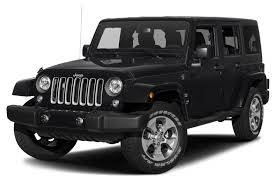 Black And Jeep 2017 Jeep Wrangler Unlimited Overview Cars