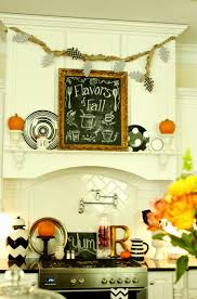 fall kitchen decorating ideas my fall kitchen decor and a free fall chalkboard printable less