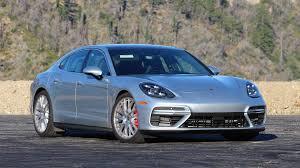 blue porsche panamera 2017 2017 porsche panamera turbo review the four door 911