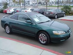 2002 honda accord v6 coupe 2002 noble green pearl honda accord ex v6 coupe 1703820 photo 3