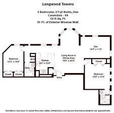 Luxury Apartment Floor Plans Apartment Floor Plans U0026 Pricing Longwood Towers Luxury