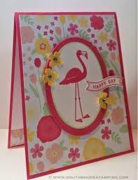 118 best cards flamingo images on pinterest cards bird cards