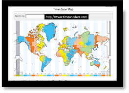 North Dakota Time Zone Map by Time Zone Map Of The United States Nations Online Project