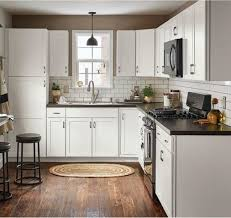 kitchen design white cabinets black appliances kitchen