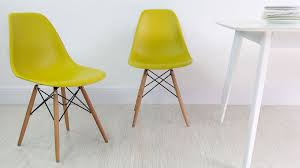 Yellow Dining Chair Eames Dining Set Eames Replica Grey Gloss Kitchen Table