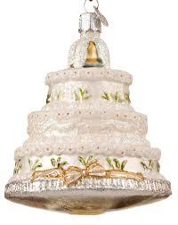 wedding cake ornament wedding cake replica ornament by