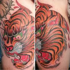 tiger skin rip by edwards tattoonow
