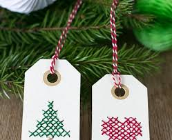 top 10 diy christmas gift tags top inspired