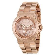 gold ladies bracelet watches images Michael kors mk5314 ladies dylan rose gold watch jpg