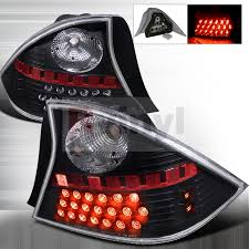 2001 honda civic tail lights spec d tuning honda civic 2001 2003 black led tail lights