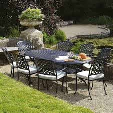Patio Table Seats 8 Best 25 Aluminium Garden Furniture Ideas On Pinterest Pink Game