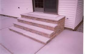 How To Make A Brick Patio by Your Guide To Building Brick Steps Home Pros Group