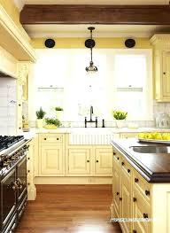 yellow kitchen cabinet pale yellow kitchen tekino co
