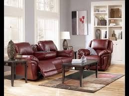 Sofa And Recliner Magician Durablend Garnet Reclining Sofa And Recliner