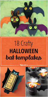 18 crafty halloween bat templates tip junkie