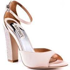 wedding shoes badgley mischka coco earring metal wedding shoes and laundry