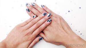 diy nail sticker tutorial is like adorable nail art for dummies