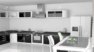 deco cuisine noir et blanc deco salon noir et blanc simple ide dcoration salon noir et blanc