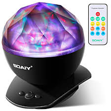 amazon com gideon dreamwave soothing wave projector led