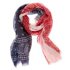 paisley american flag scarf claire u0027s us
