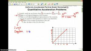 quantitative acceleration problems youtube