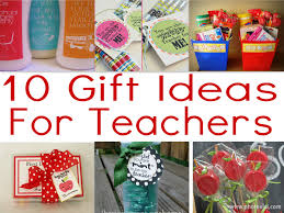 10 gifts for the day of school