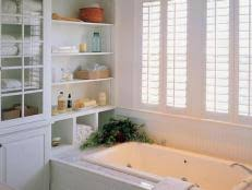 narrow bathroom layouts hgtv