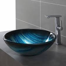 bathroom glass vessel sink kraususa com