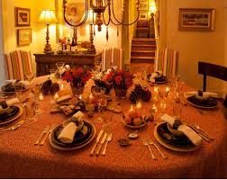 Thanksgiving Table Centerpieces by Decorations 8 Seat Thanksgiving Round Table Decoration Feature