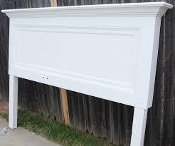 Diy King Headboard Classic One Panel Door Headboard For A King Size Bed Hometalk